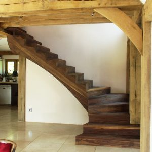 Bespoke Hardwood Staircase