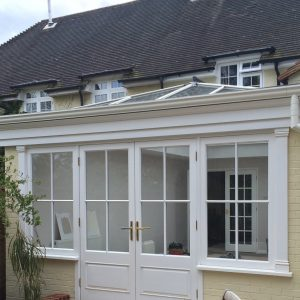 Bespoke wooden windows and doors by Milland Joinery