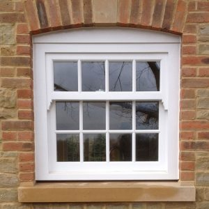 Bespoke sash window by Milland Joinery